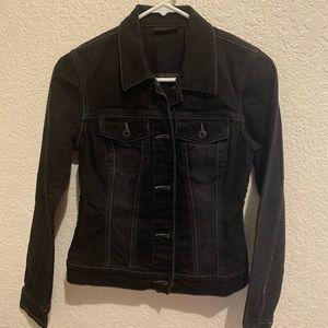 NWOT Ladies Black Jean Jacket